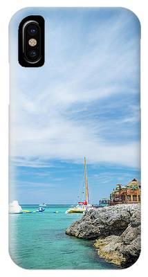 Coastline Sailing In Montego Bay IPhone Case