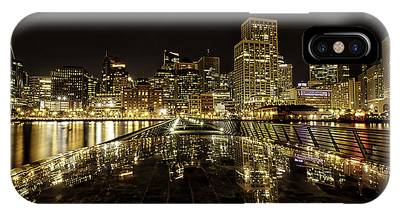 IPhone Case featuring the photograph San Francisco Skyline by Chris Cousins