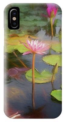 San Juan Capistrano Water Lilies IPhone Case