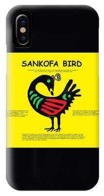 Sankofa Bird Of Knowledge IPhone Case