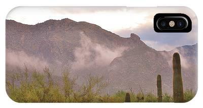 Santa Catalina Mountains II IPhone Case