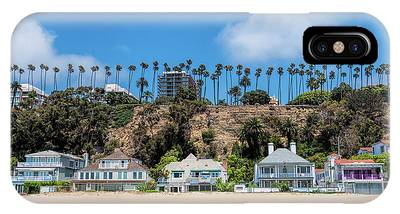 Santa Monica Beach Front IPhone Case