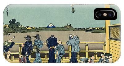 Thirty-six Views Of Mount Fuji Phone Cases