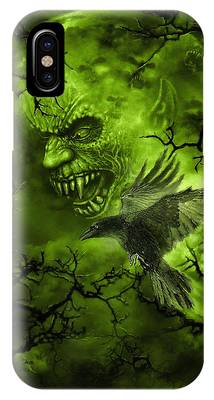 Scary Moon IPhone Case