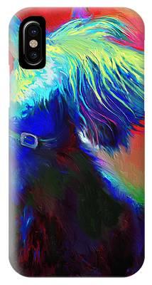 Scottish Terrier Art iPhone Cases