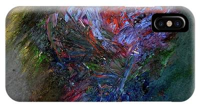 IPhone Case featuring the painting Self  Portrait  by Michael Lucarelli