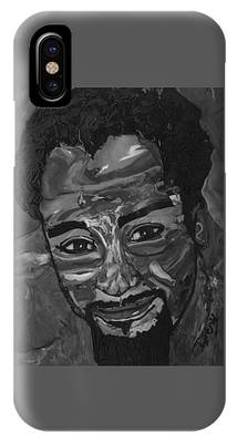 Shane In Black And White IPhone Case