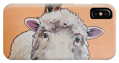 Shelley The Sheep IPhone Case