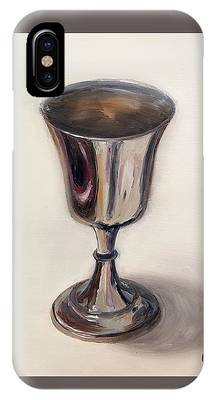 Silver Goblet IPhone Case