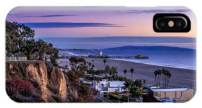 Sitting On The Fence - Santa Monica Pier IPhone Case