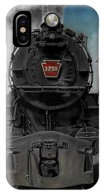 Trains Paintings iPhone Cases