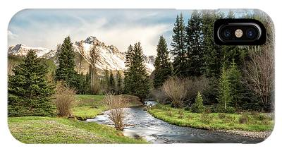 Sneffels And Spring Stream IPhone Case