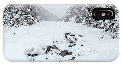 IPhone Case featuring the photograph Snow Covered Lake by Brad Wenskoski