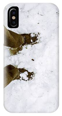 First Snowfall Phone Cases