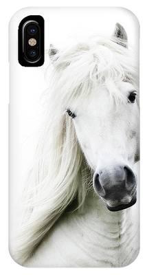 White Horse Phone Cases