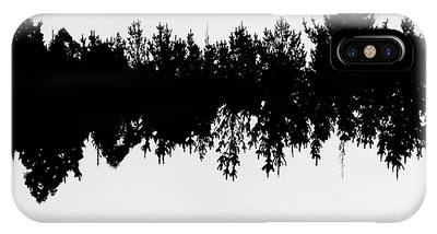 IPhone Case featuring the photograph Sound Waves Made Of Trees Reflected by Jorgo Photography - Wall Art Gallery