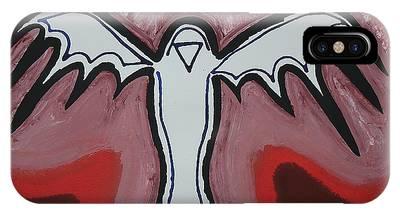 Spirit Crow Original Painting IPhone Case