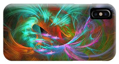 Spring Riot - Abstract Art IPhone Case