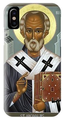 St Nicholas Of Myra Phone Cases