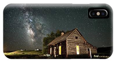 Star Valley Cabin IPhone Case