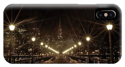 IPhone Case featuring the photograph Starburst Lights by Chris Cousins