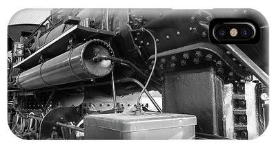 Steam Locomotive Side View IPhone Case