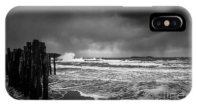 Storm In Saint-malo IPhone Case