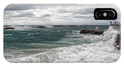 Stormy Day On Redondo IPhone Case