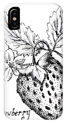 Strawberry Dreams IPhone Case