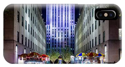 Rockefeller Center IPhone Case