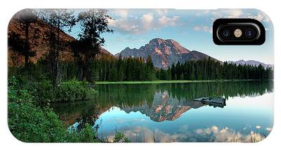 IPhone Case featuring the photograph String Lake by Ronnie and Frances Howard