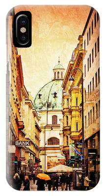 A Rainy Day In Vienna IPhone Case