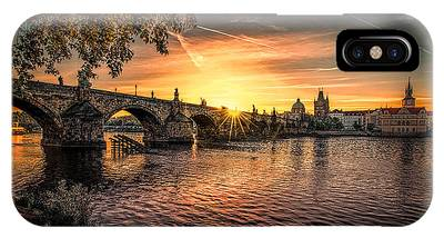 IPhone Case featuring the photograph Sunrise At The Charles Bridge by Kevin McClish
