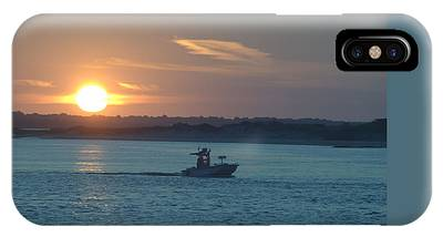Sunrise Bassing IPhone Case