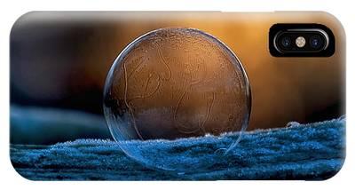 Sunrise Capture In Bubble IPhone Case