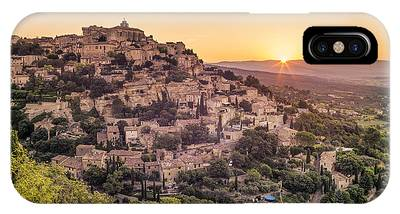 IPhone Case featuring the photograph Sunrise In Gordes Provence  by Juergen Held
