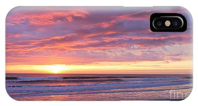 IPhone Case featuring the photograph Sunrise Pinks by LeeAnn Kendall