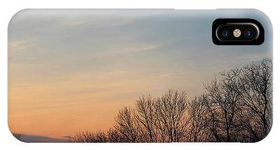 Fall Sunset IPhone Case