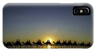 IPhone Case featuring the photograph Sunset At Cable Beach by Chris Cousins
