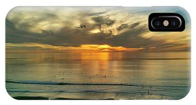 Sunset At Carlsbad IPhone Case