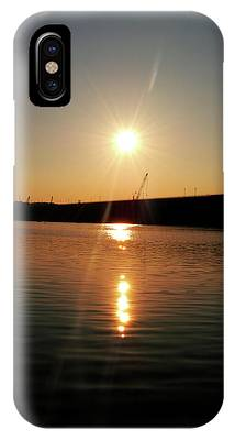 Sunset At Wolf Creek Dam IPhone Case