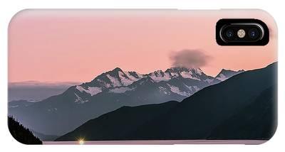 Sunset In Alaska IPhone Case