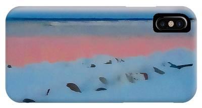 Sunset On Georgian Bay IPhone Case