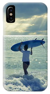 At The Beach Phone Cases