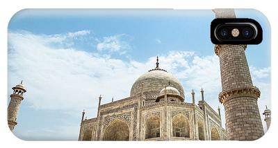 IPhone Case featuring the photograph Taj Mahal by Chris Cousins
