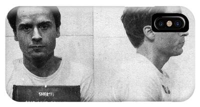 Ted Bundy Mug Shot 1975 Horizontal  IPhone Case