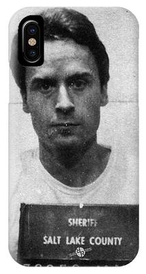 Ted Bundy Mug Shot 1975 Vertical  IPhone Case