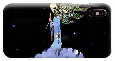 Heavenly Visit IPhone Case