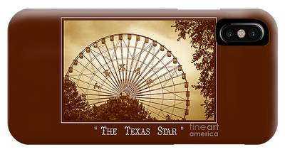 Texas Star In Gold IPhone Case