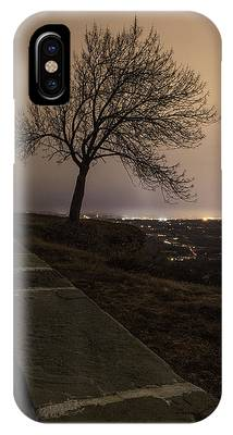 IPhone Case featuring the photograph Thacher Park Twilight by Brad Wenskoski
